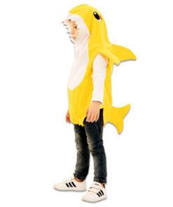 Carnaval kostuum kind - Lier - verkleedkledij kinderen - dieren - vis - baby shark - yellow shark - zee - sea - peuter - baby