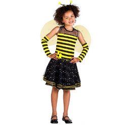 Carnaval kostuum kind - Lier - verkleedkledij kinderen - dieren - Maya de Bij - wesp - hommel - insecten - lady bug