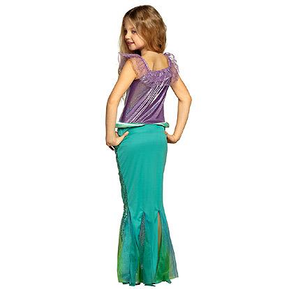 Carnaval kostuum kind - Lier - verkleedkledij kinderen - zee - sea - mermaid - prinses - kleedje - Ariël - princess