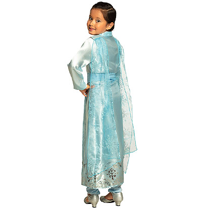 Carnaval kostuum kind - Lier - verkleedkledij kinderen - Frozen - Anna - Elsa - Olaf - Snow Princess - prinsessenjas - Efteling