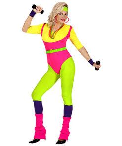 Lier - jaren 80 - 80's - jaren 90 - i love the 90's - kamping kitsch - retro - fluo - Fun-Shop - sportpak - onesie - fitness