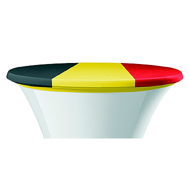 EK 2021 - België - Rode Duivels - Belgische driekleur - Belgische team - voetbal - versiering Belgen - supporteren - Lier - Fun