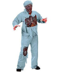 Halloween kostuum - Lier - verkleedkostuums - verkleedkledij volwassenen - griezelen - skelet - zombie - chirurg - dokter