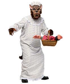 Halloween kostuum - Lier - verkleedkostuums - verkleedkledij volwassenen - griezelen - roodkapje - sprookjes - Efteling - grootmoeder