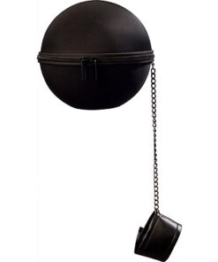 Halloween accessoires - Lier - ketting - prisoner - gevangene - bal - voet - geketend - chained - beroep - carnaval - handtas