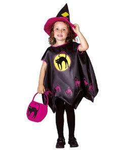 Halloween kostuum - Lier - verkleedkostuum - verkleedkledij kinderen - griezelen - heksen - bezems - hekserij - poncho