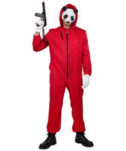 La Casa de Papel - officiële verkleedkostuum - netflix serie - dieven - overvaller - jumpsuit - Lier - verkleedpak tiener