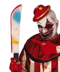 Lier - halloween - accessoire - carnaval - leger - army - wapen - mes - hakmes - creepy - jungle