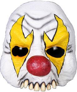 Halloween - Lier - scary - creepy - it - circus - clown masker - horror - kaal voorhoofd - half masker - enge clown
