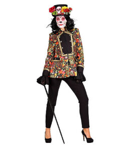 """Jas """"Day of the dead"""" Vrouw Multicolor"""