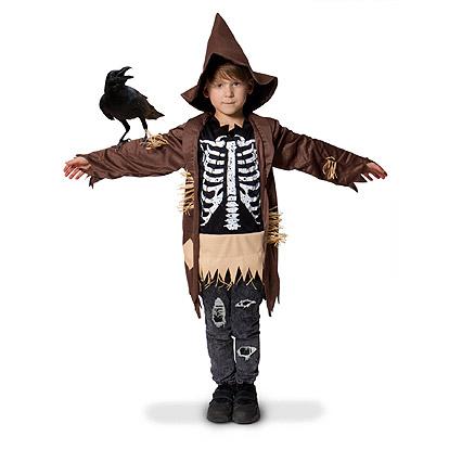 Carnaval kostuum kind - Lier - verkleedkledij kinderen - Halloween - vogelverschrikker - kraai - skelet - geraamte - griezel