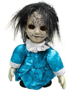 Halloween Decoratie - Lier - tafeldecoratie - griezel - zombie - decor - decoratie - bewegende pop - wandelende pop - doll