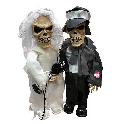 Halloween Decoratie - Lier - tafeldecoratie - griezel - zombie - decor - decoratie - trouwen - bruid - bruidegom - zingen