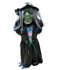 Halloween Decoratie - Lier - tafeldecoratie - hoofd omhoog - omhoog schietende kop - bewegende zombie - griezel - heksen