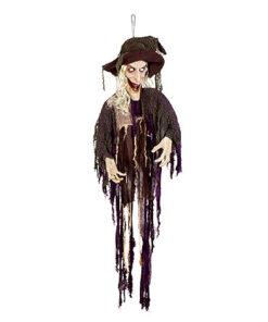 Halloween Decoratie - Lier - bewegende decoratie - griezel - decor - decoratie - heks - Fun-Shop - Carnaval - sprekend decor