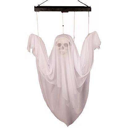 Halloween Decoratie - Lier - schedel - spoken - spooky - bewegend spook - Halloween versiering - decor - spinnen - griezelig