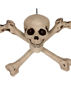Halloween Decoratie - Lier - piraten - Halloween versiering - decor - griezelige geluiden - lichtgevende ogen - skelet - schedel