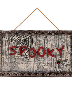 Halloween Decoratie - Lier - piraten - spoken - spooky - bewegende letters - Halloween versiering - decor - spinnen - griezelig