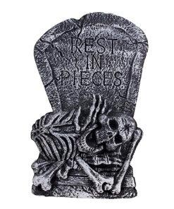 Halloween Decoratie - Lier - wanddecoratie - tafeldecoratie - skeletten - grafzerken - RIP - doodshoofden - kerkhof