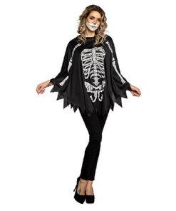 Carnaval kostuum kind - Lier - verkleedkledij volwassenen - Halloween - cape - skelet - geraamte - day of the dead - bones - botten