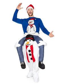 Carnaval kostuum volwassenen - Lier - verkleedkledij volwassenen - Kerstmis - Kerstman - Foute kersttrui - sneeuwman - grappig