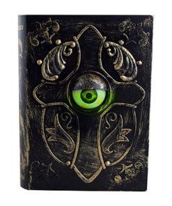 Halloween Decoratie - Lier - tafeldecoratie - griezel - decor - decoratie - oog - deurbel - come in - welkom - sprekend boek