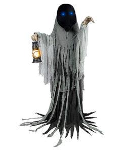 Halloween Decoratie - Lier - bewegende decoratie - spooky - griezel - grote halloween decors - lantaarn - spoken - demonen